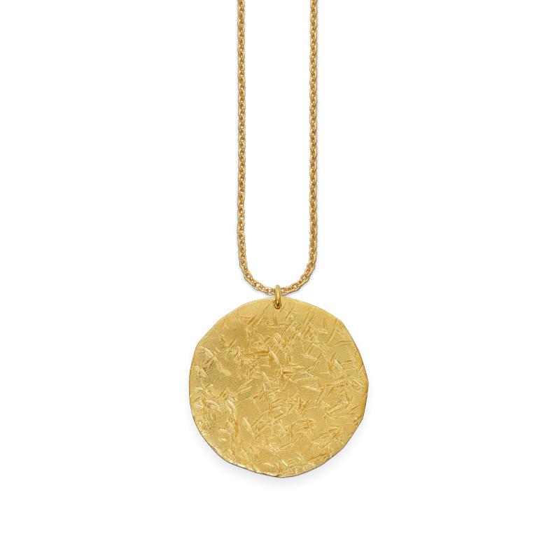 OSCAR & FILU Anhänger Silbervergoldet AH0052016SVG