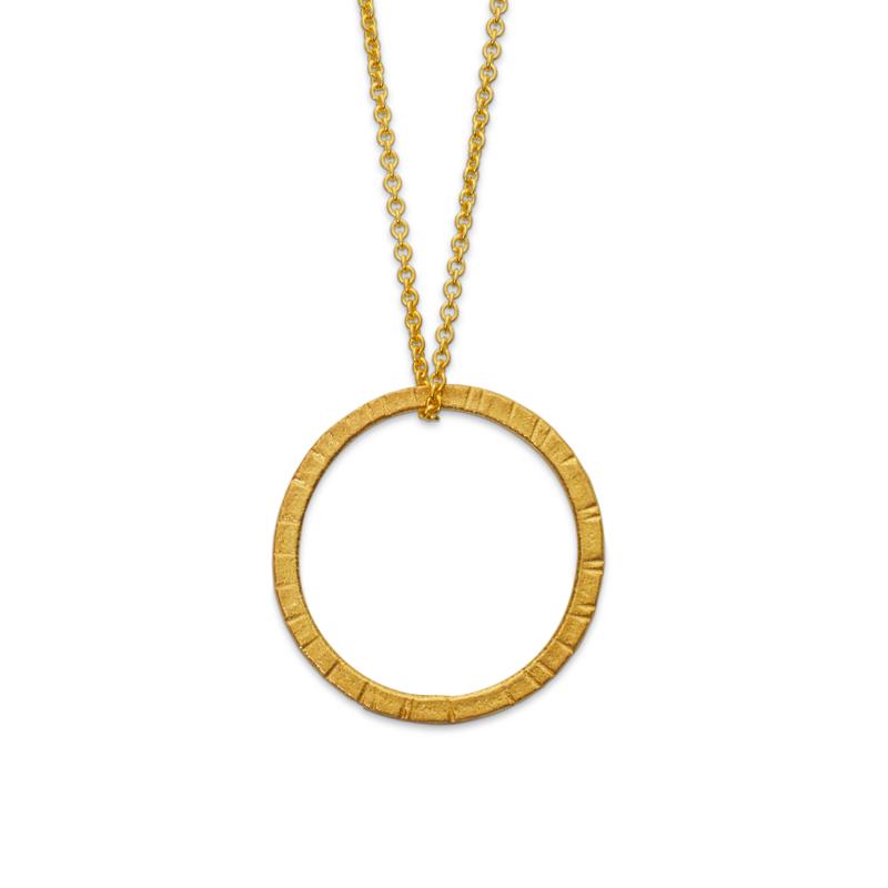 OSCAR & FILU Anhänger Silbervergoldet AH0072016SVG
