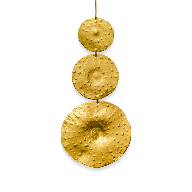 OSCAR & FILU Anhänger Silbervergoldet AH0072017SVG