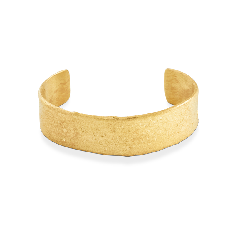 OSCAR & FILU Armreifen Silbervergoldet AR0022016SVG