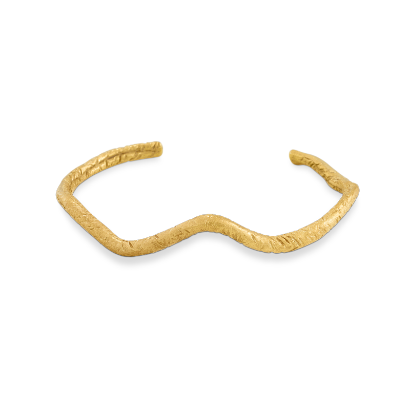 OSCAR & FILU Armreifen Silbervergoldet AR0032016SVG