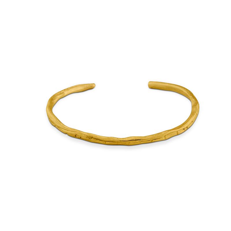 OSCAR & FILU Armreifen Silbervergoldet AR0052016SVG