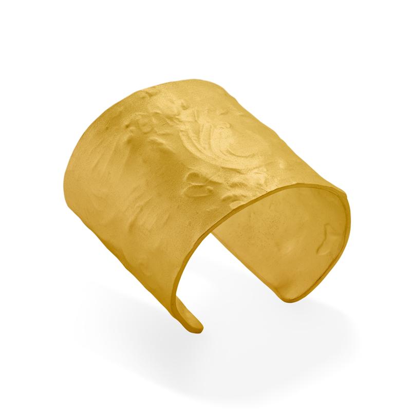OSCAR & FILU Armreifen Silbervergoldet AR0062017SVG