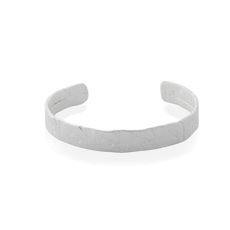 OSCAR & FILU Armreifen 925 Sterling Silber AR0082017S
