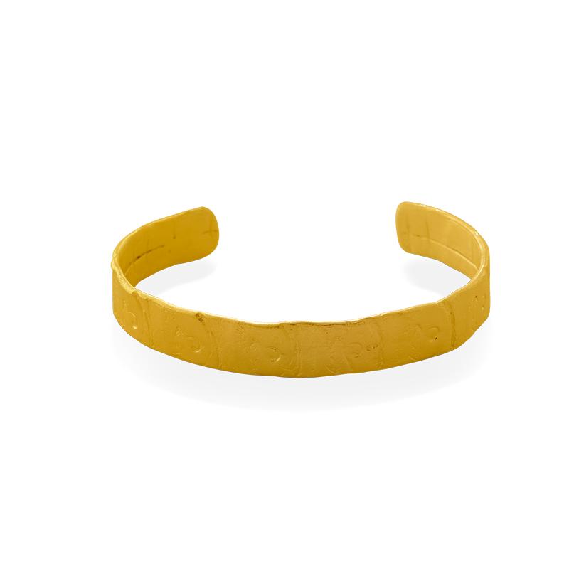 OSCAR & FILU Armreifen Silbervergoldet AR0082017SVG