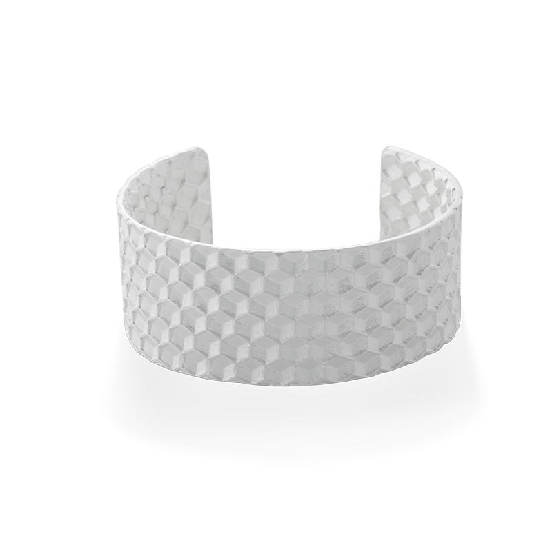 OSCAR & FILU Armreifen 925 Sterling Silber AR0112017S