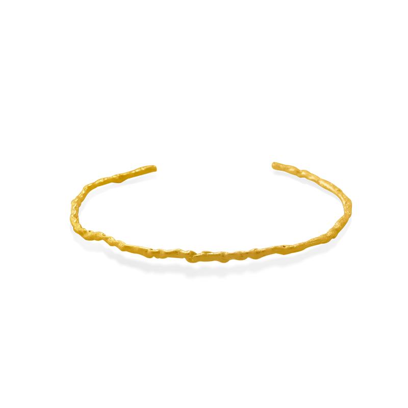 OSCAR & FILU Armreifen Silbervergoldet AR0122017SVG