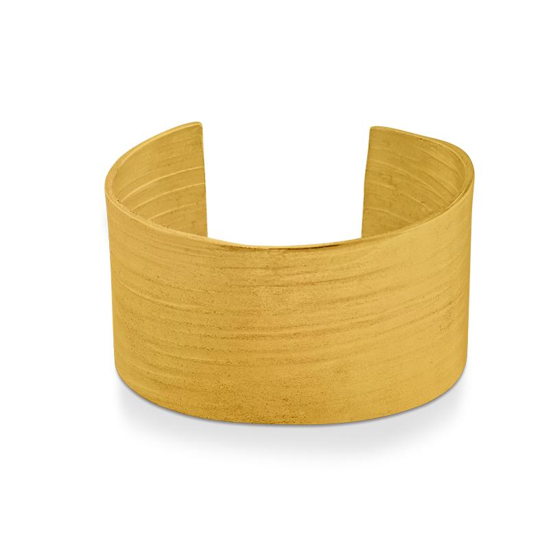 OSCAR & FILU Armreifen Silbervergoldet AR0132016SVG