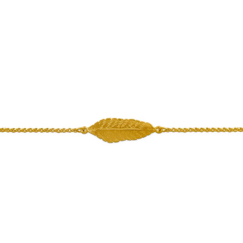 OSCAR & FILU Armband Silbervergoldet AT0092017SVG