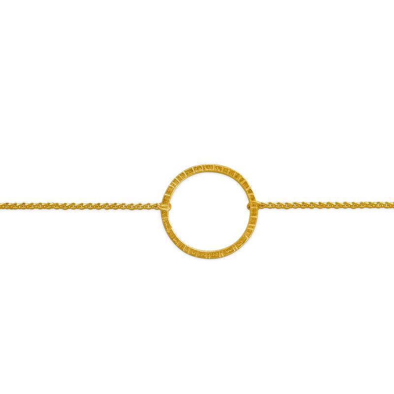 OSCAR & FILU Armband Silbervergoldet AT0112017SVG