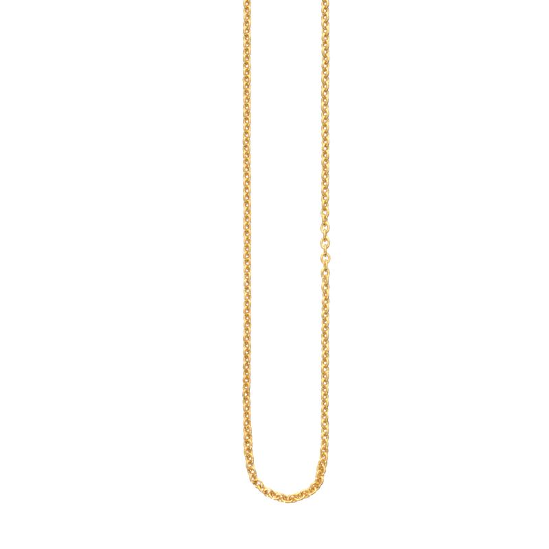 OSCAR & FILU Kette S Silbervergoldet K0012016SVG