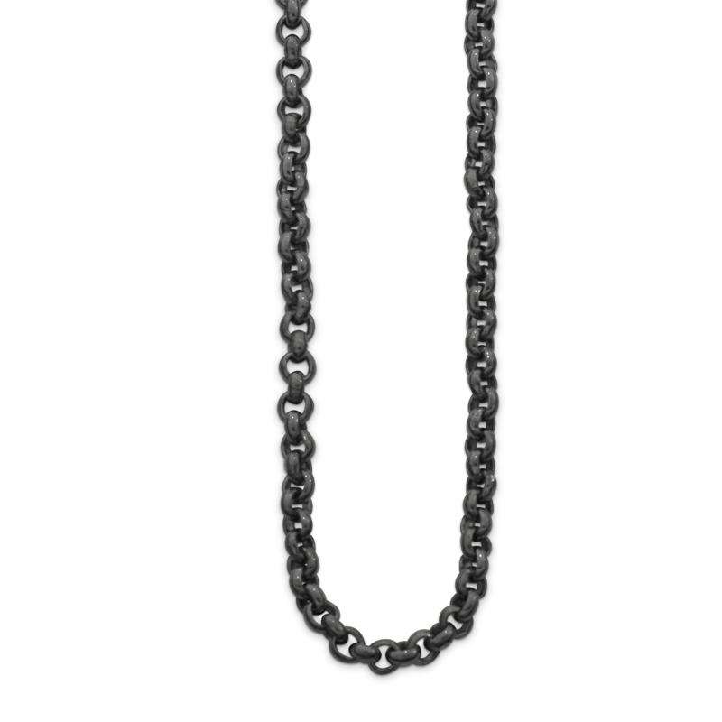 OSCAR & FILU Kette M BLACKSILVER K0022016BS