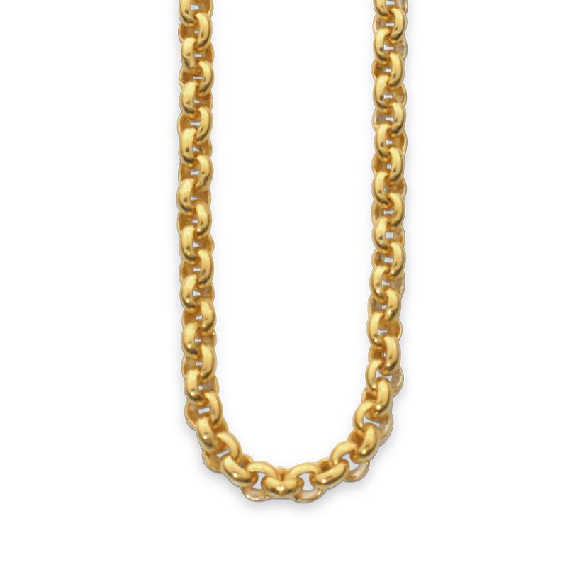 OSCAR & FILU Kette XL Silbervergoldet K0062016SVG