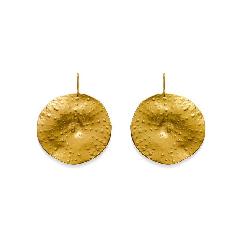 OSCAR & FILU Ohrschmuck Silbervergoldet OS0012017SVG