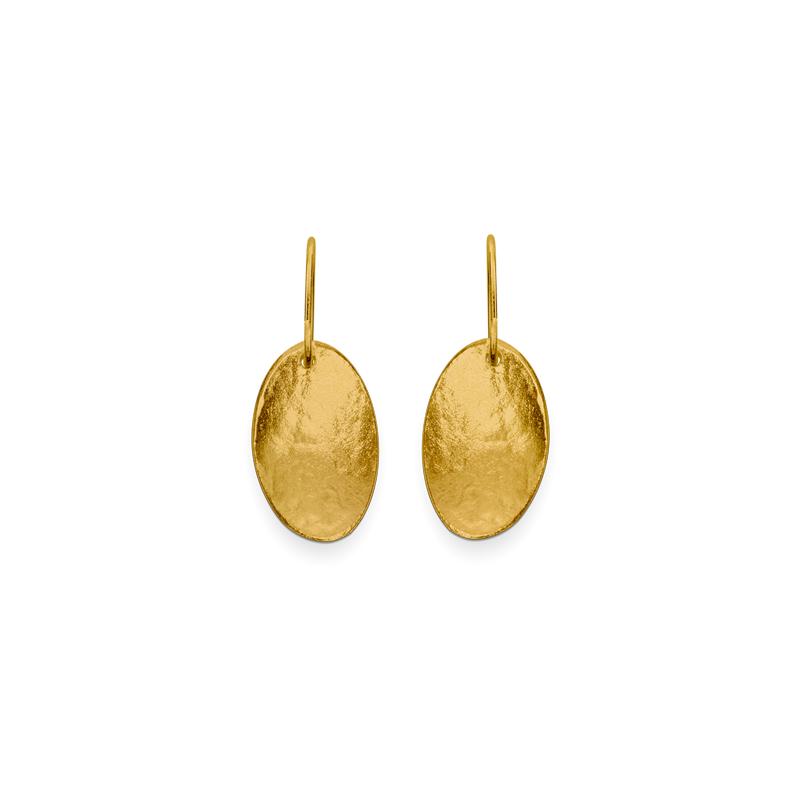 OSCAR & FILU Ohrschmuck Silbervergoldet OS0082016SVG