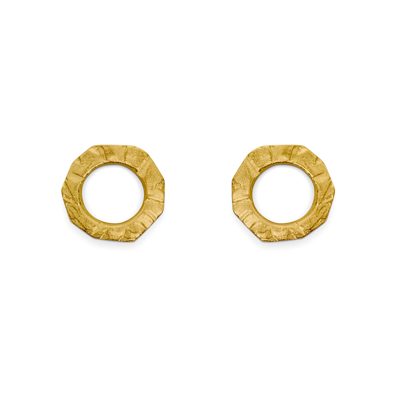 OSCAR & FILU Ohrschmuck Silbervergoldet OS0132016SVG