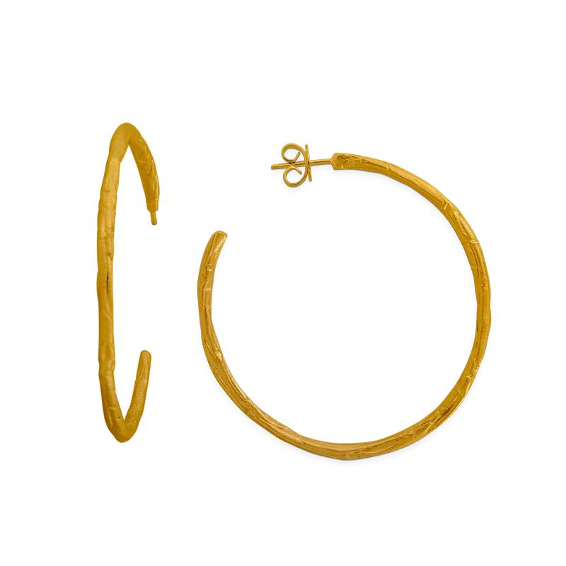 OSCAR & FILU Ohrschmuck Silbervergoldet OS0192017SVG