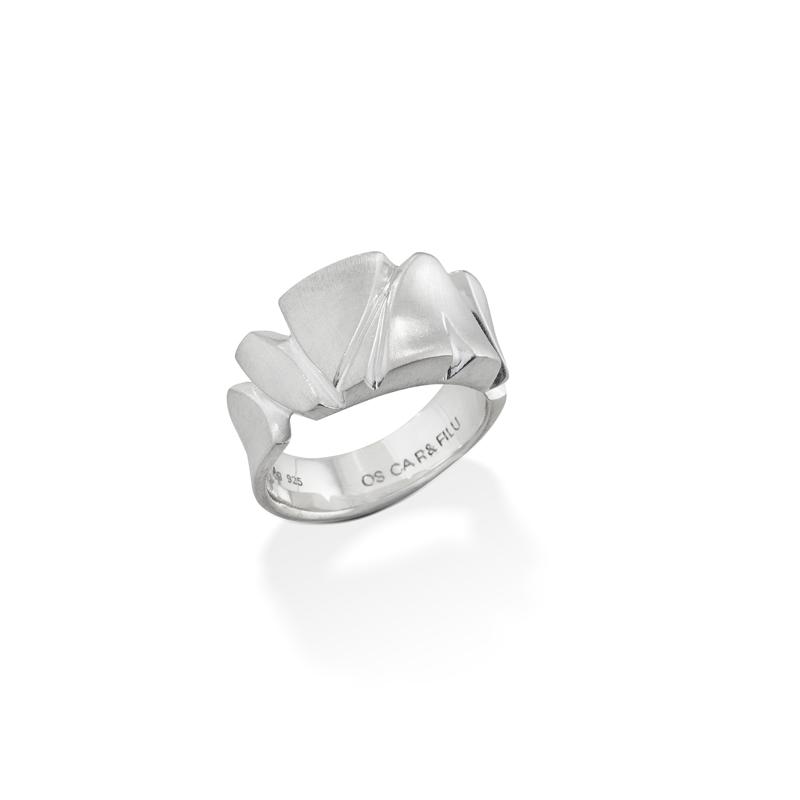 OSCAR & FILU Ring 925 Sterling Silber R0022016S
