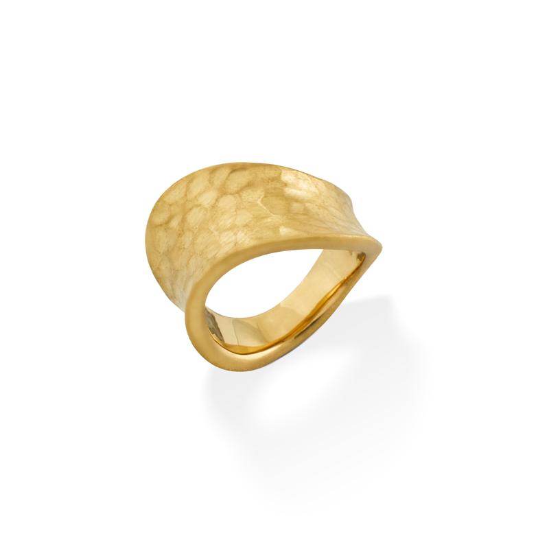 OSCAR & FILU Ring Silbervergoldet R0032016SVG
