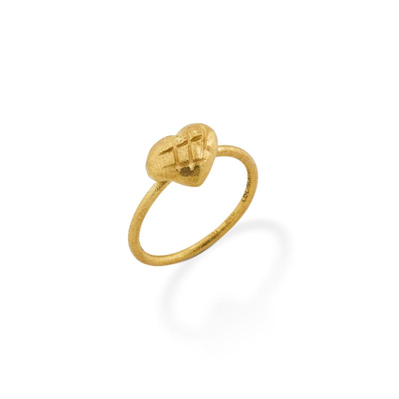 OSCAR & FILU Ring Silbervergoldet R0062016SVG