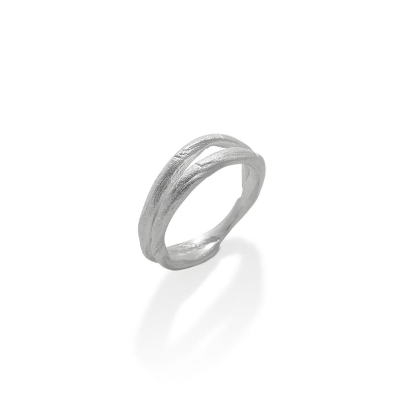 OSCAR & FILU Ring 925 Sterling Silber R0072017S