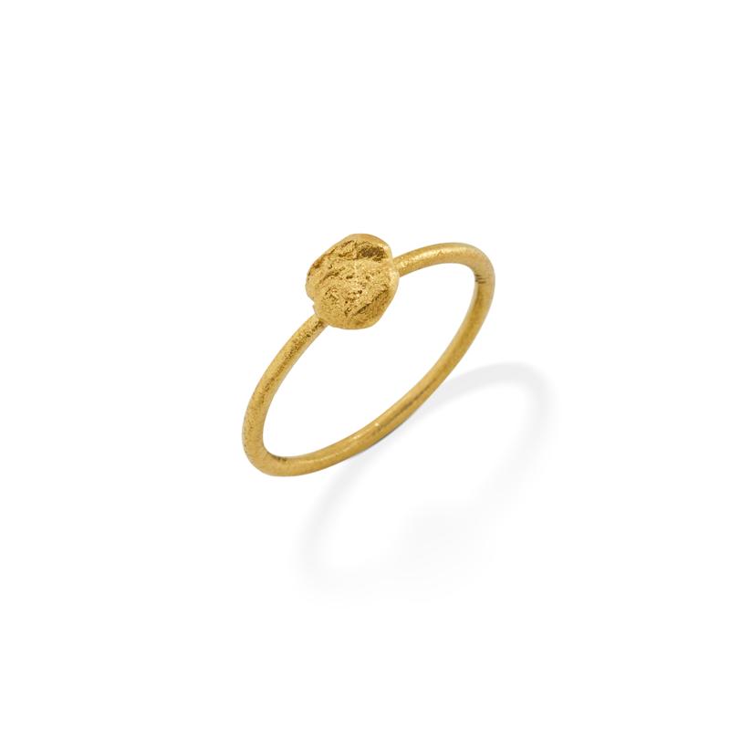 OSCAR & FILU Ring Silbervergoldet R0092016SVG