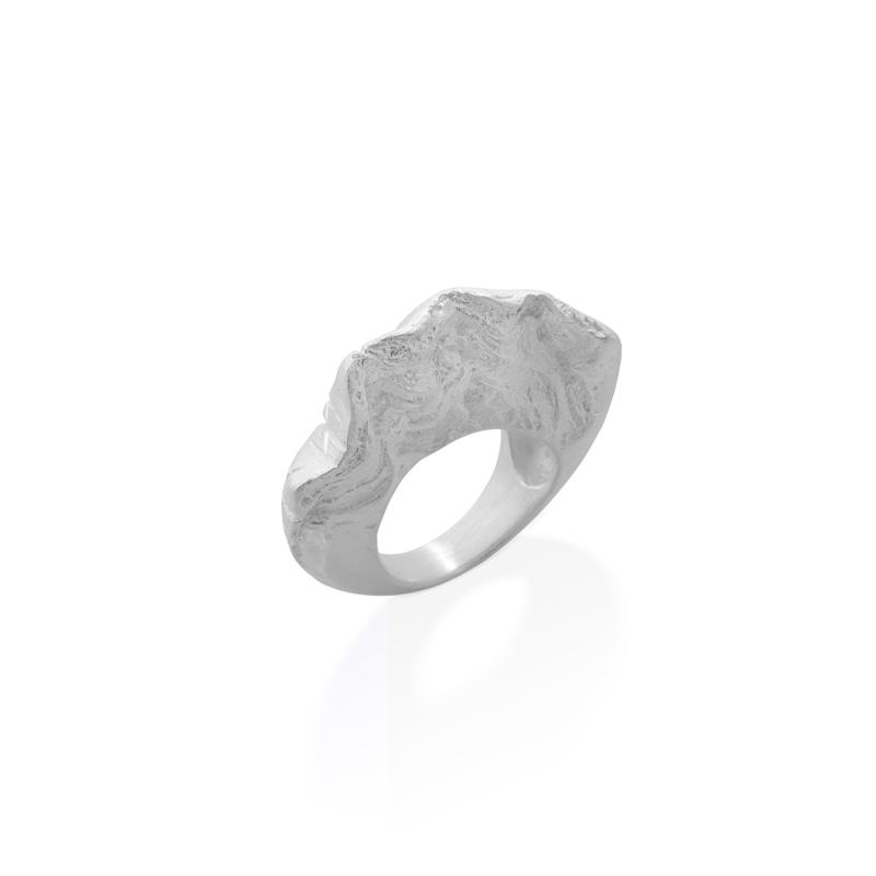 OSCAR & FILU Ring 925 Sterling Silber R0132017S