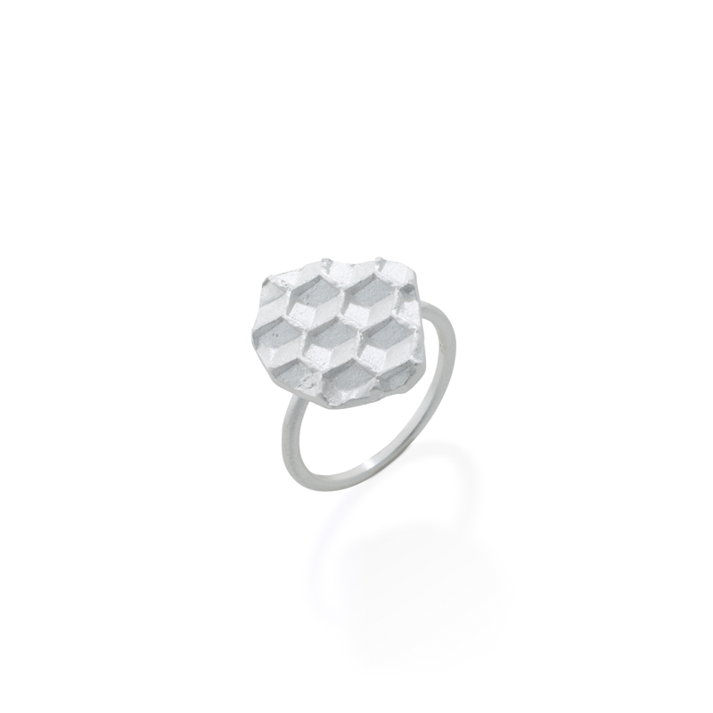 OSCAR & FILU Ring 925 Sterling Silber R0202017S
